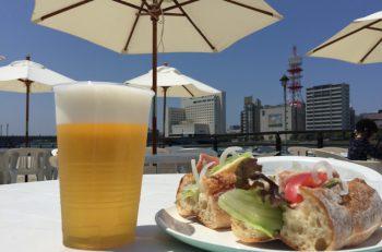 今年も営業中! 信濃川のほとりでカフェを楽しもう