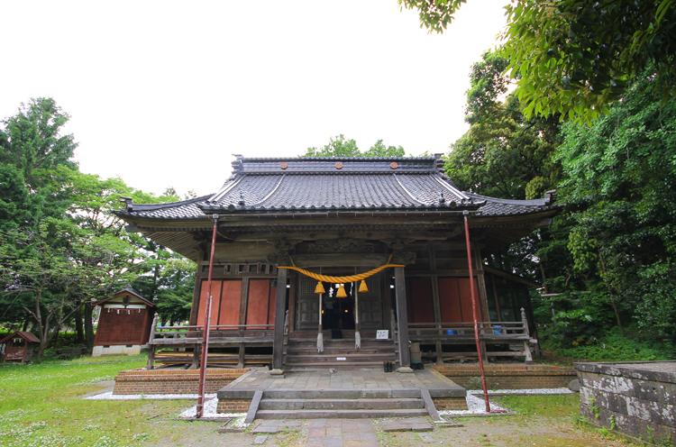 田伏の奴奈川神社