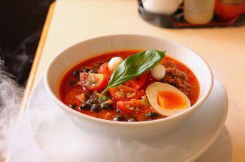 担々麺でタピっちゃう!? 雲の中のCOOOLな担々麺|新潟市金比羅通り