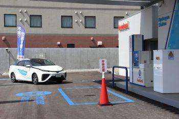 新潟市内にある水素ステーションでFCV(燃料電池車)に充填する様子を取材してきたよ!