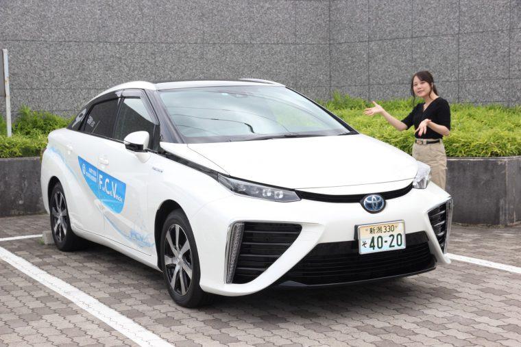 今回、FCVを知るために取材したトヨタ「MIRAI」