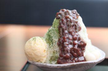 専用氷で作るフワッと食感のかき氷|新潟市中央区