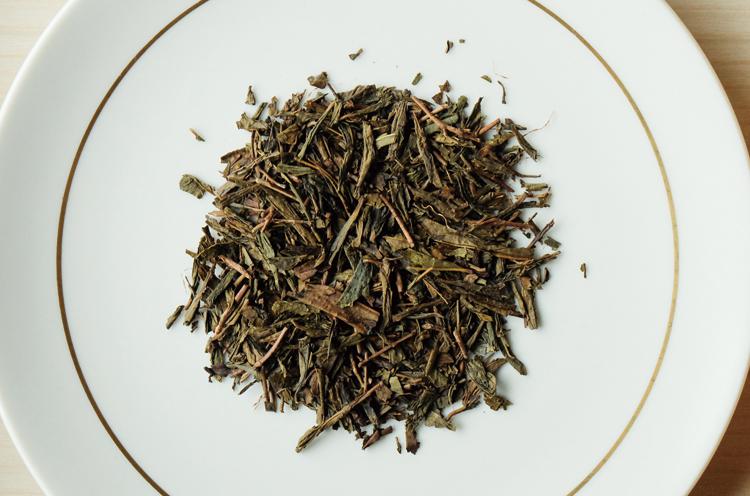 佐渡番茶の茶葉