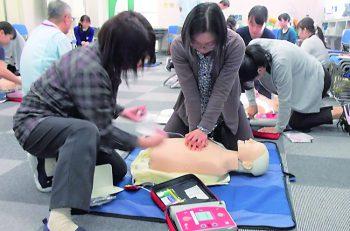 9月9日の「救急の日」にちなんで行なわれる催し。救急医療について学ぼう!