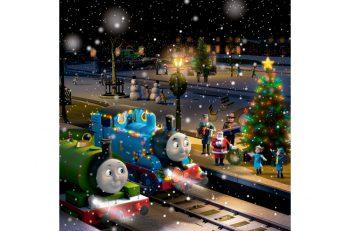 トーマスと一緒にクリスマスを。トーマスもクリスマスの装いで登場します!