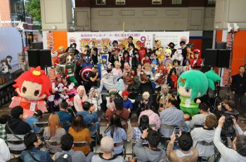 【開催中止となりました】痛車展示、コスプレパレード…新潟市がマンガ・アニメ一色に!