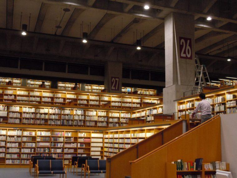写真で伝わりますよね〜、図書館の素敵さが!!