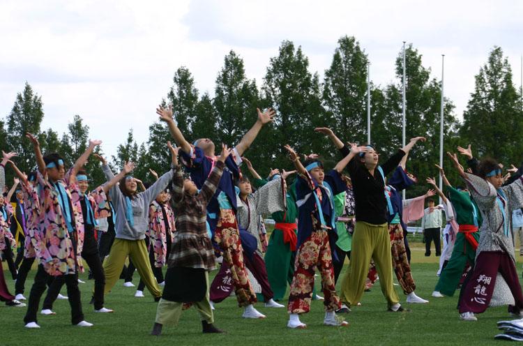 凧フェス総踊り