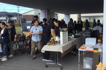 コーヒーやパンの販売、雑貨、写真撮影会、ワークショップなど催しが満載!
