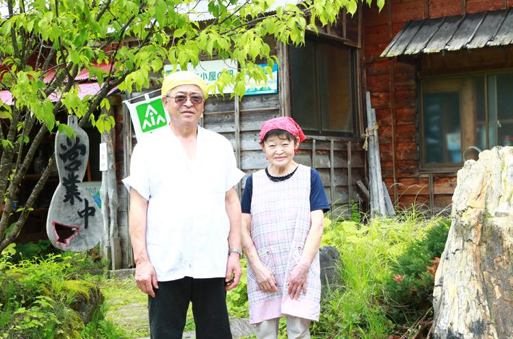 番頭の源川さんと奥様