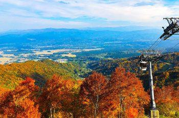 【妙高市】ロッテアライリゾート観光ゴンドラ、紅葉シーズンに運行
