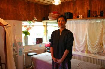 女性特有の不調を改善する温活サロン。ハーブテントでリラックス|新潟市西蒲区