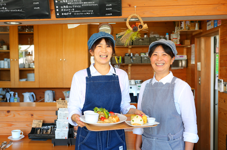米や野菜を生産する「おおた農場」が手掛けるお店