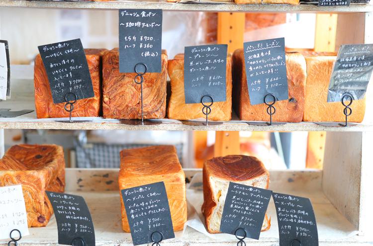人気のデニッシュ食パンは約15種類