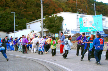 【粟島浦村】粟島で一番大きなお祭りイベント