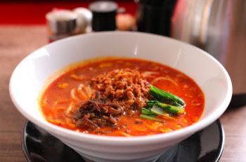 ゴマの香り豊かな超濃厚担々麺|新潟市江南区