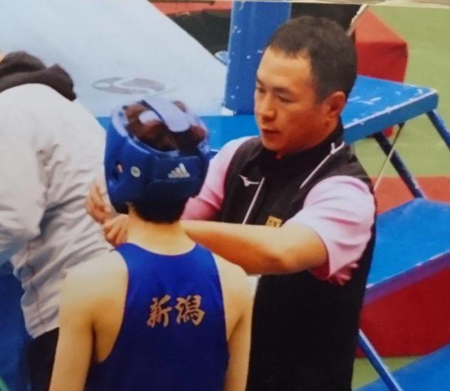 現在は開志学園高校ボクシング部、そして国体新潟県少年男子の監督としてボクシング界の発展に携わる仁多見さん