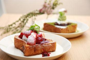 ふわっふわのパン生地が自慢のフレンチトースト専門店