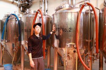 ビールのうまさにゴールはない。どんどん挑戦したい~東京出身のビール職人が胎内市で奮闘~ 胎内高原ビール園 住山祐次郎さん