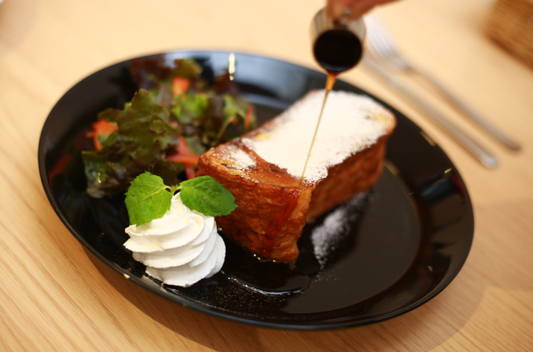 『極厚のフレンチトースト』(600円)