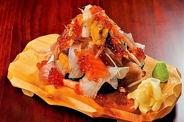 『寿司タワー』。すげっ!