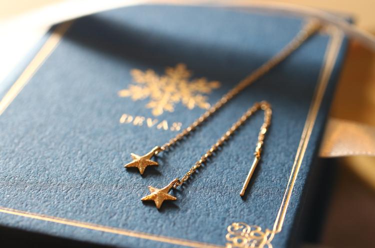 DEVAS K18 Gold Star American Pierce