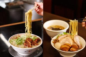 小千谷二大爆盛りラーメンの大胆で緻密な自家製麺