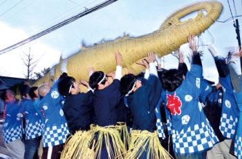 【聖籠町】厄を祓い、無病息災、五穀豊穣を祈るために始められた祭り