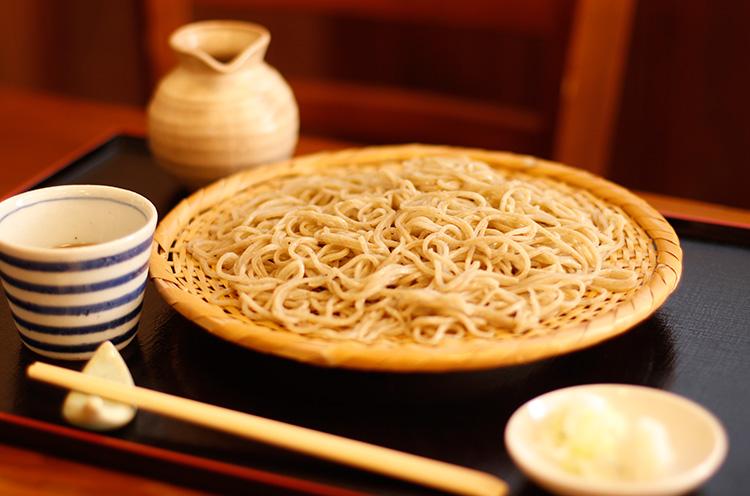 定番の『ざる蕎麦』(800円税込)
