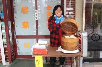 カミフル楼蘭で冬の風物詩『肉まん』販売中