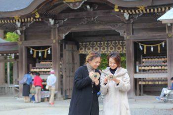 二年参り、初詣は越後一宮、彌彦神社で!!