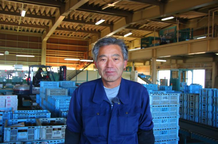 五泉園芸組織連絡協議会 野菜部会 部会長の川口さん