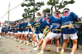 【糸魚川市】国の重要無形民俗文化財のひとつにも指定されている、江戸時代から続く伝統行事。