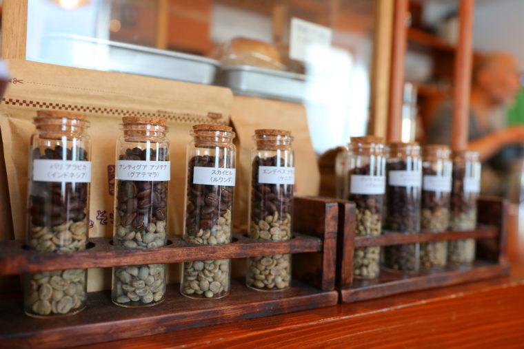 お店で焙煎したコーヒー豆は、ネットでも購入可能