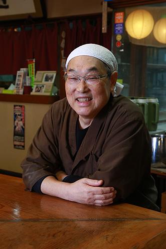 ご主人・高野さん。35年前に店を開いた