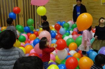 元気な子どもたち集まれ! 親子一緒におもいっきり遊ぼう