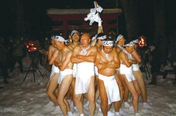 【新発田市】赤谷地域で700年以上続く奇祭