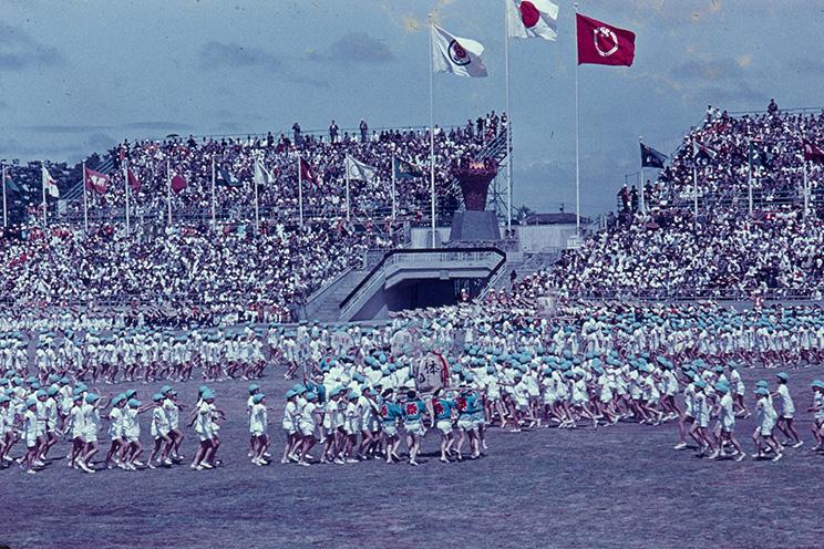 1964年国民体育大会写真(会場:新潟市陸上競技場)