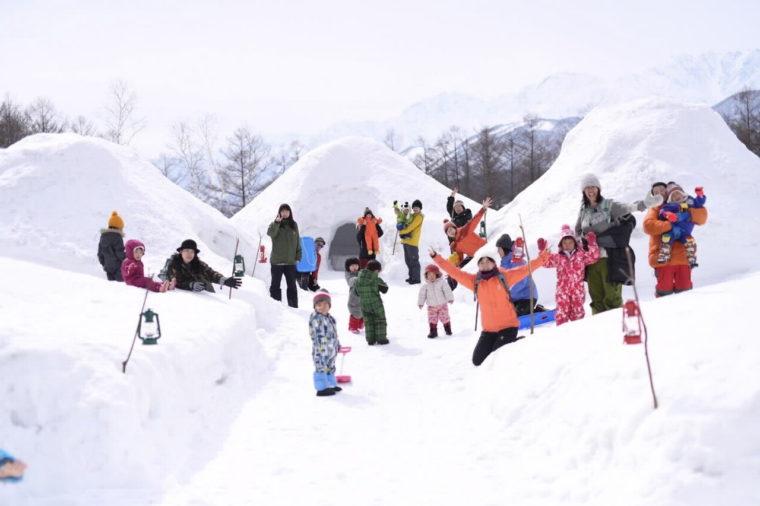 雪遊びパーク「コルチナワンダーヴィレッジ」