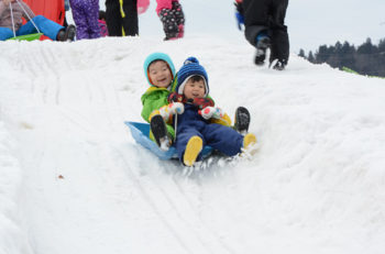 恒例遊雪まつり。キッズが楽しめる催し満載!