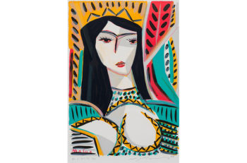 日本画、洋画、版画など、西蒲区の隠れた名品を展示