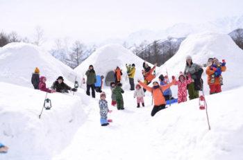 北アルプスの雄大な自然に抱かれた一大スノーリゾート。長野県「小谷村」で冬遊び!