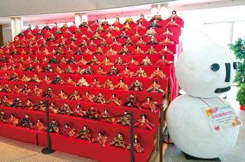 【南魚沼市】ひな雪見飾り in 今泉記念館