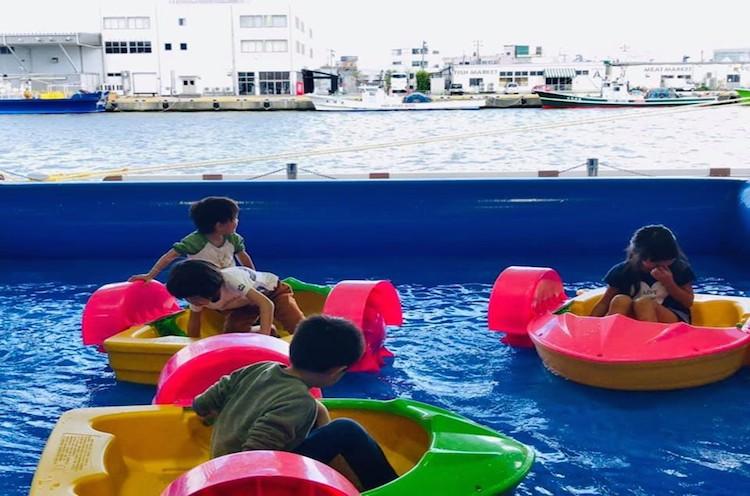 パドルボート