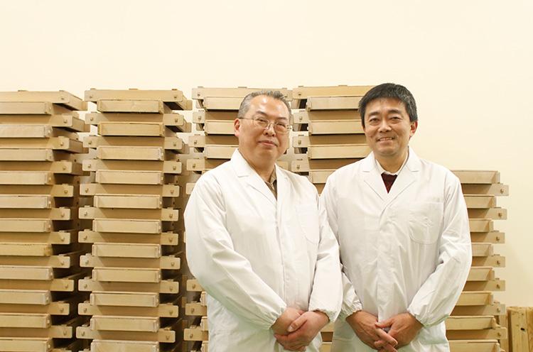 竹内伸一さん(左)・渡邊健一さん(右)