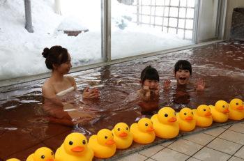 バレンタインはチョコレート風呂でちょこっと幸せ気分♪