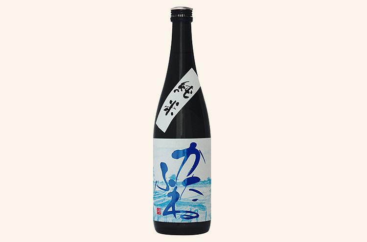 竹田酒造店〚かたふね純米〛720ml 1,386円(税込/写真)、 1.8L 2,772円(税込