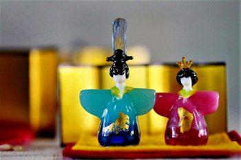 観ていて心が温まるガラスの雛人形|新潟市西蒲区