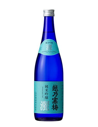 『越乃寒梅 純米吟醸 灑』(720ml 1,500円税抜)