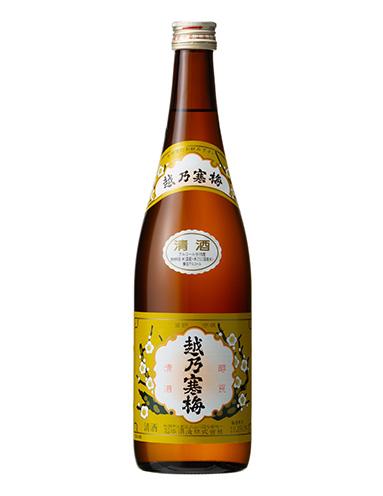 『越乃寒梅 普通酒 白ラベル』(720ml 960円税抜)